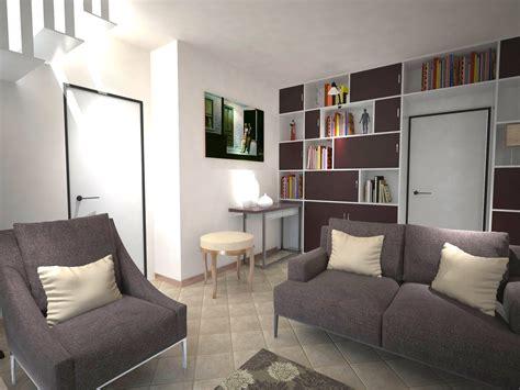 casa arredare arredare un soggiorno con tante aperture sulle pareti