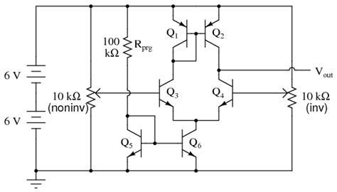 Simple Amp Discrete Semiconductor Circuits