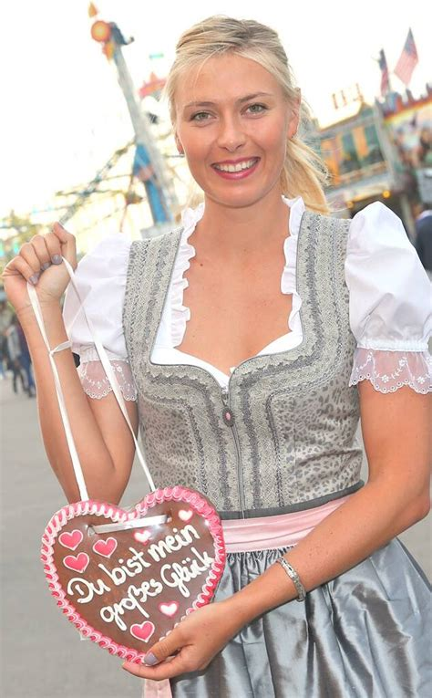 maria sharapova celebrates  birthday  german