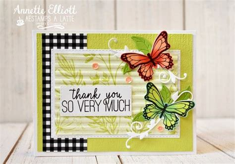 Stampin' Up botanical butterfly dsp Others' Stampin' Up