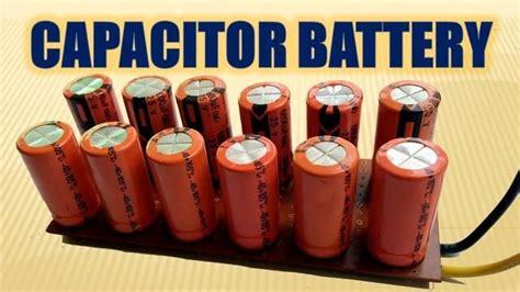 pin  diy  capacitors  place  batteries