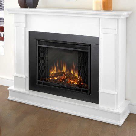 Real Flame Silverton Ventless Gel Fireplace White