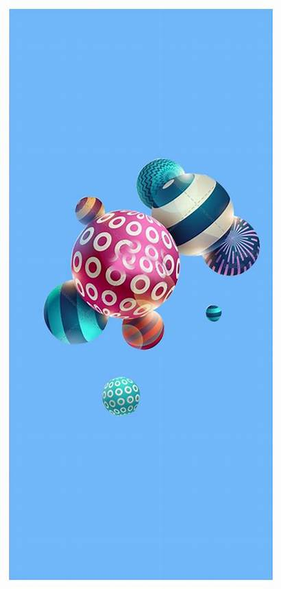Gambar Gelembung Bergerak Balon Ponsel Latar Unduh