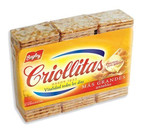 bagley criollitas galletitas  pack