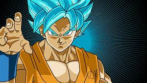 Wallpapers Goku Super Saiyan God - WallpaperSafari