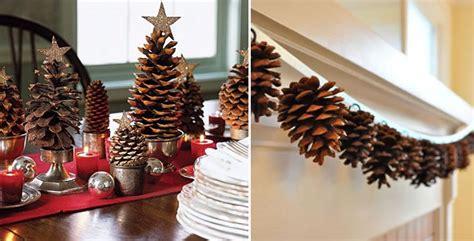 decoration avec une pomme deco noel avec des pommes de pin de conception de maison