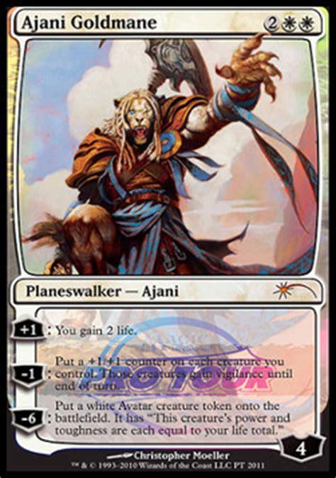 ajani goldmane magic card magiccardmarket