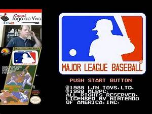 [NES] Major League Baseball - YouTube