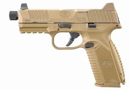 Fn 509 Tactical 9mm Pistol Fde Barrel