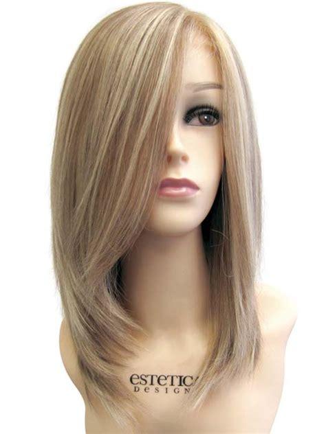 nicole human hair wig  estetica designs wigs