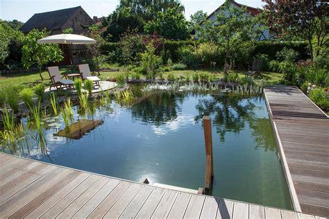Wo Grün Begeistert So Entsteht Ein Schwimmteichgarten