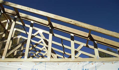 rafters  trusses   differences