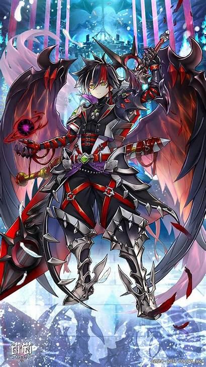 Anime Zero Fantasy Project Boys Warrior Demon