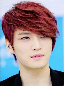 Who wore red hair better? (Male edition)   K-Pop Amino