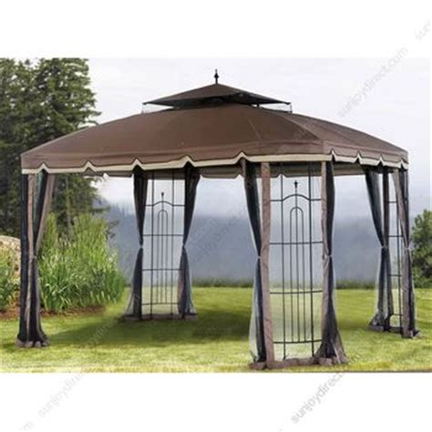 sunjoydirect sunjoy big lots 10x12 bay window gazebo