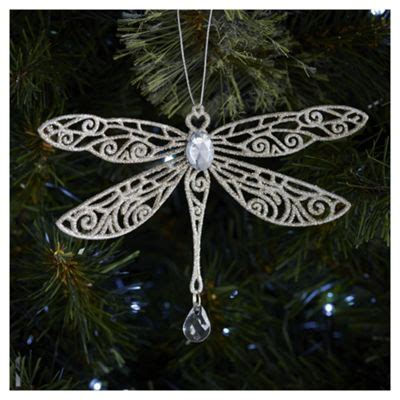 buy weiste glitter gold dragonfly christmas tree