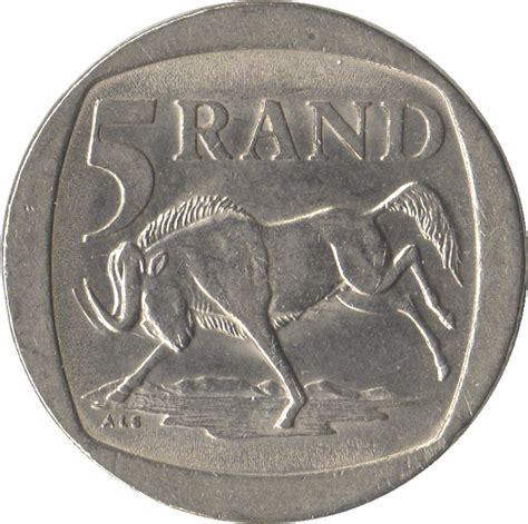 5 rand south africa suid afrika afrique du sud numista