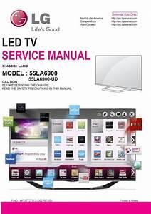 Lg 55la6900 Ud Tv Service Manual   Schematic Diagrams In