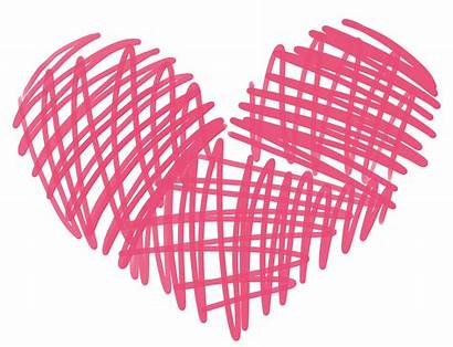 Doodle Heart Clipart Clip Hearts Cookie Scribble