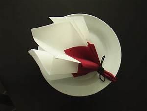 Pliage De Serviette En Papier Facile Youtube : pliage serviette d coration table bouquet de printemps ~ Melissatoandfro.com Idées de Décoration