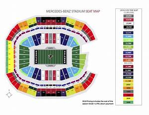 Breakdown Of The Mercedes Benz Stadium Seating Chart