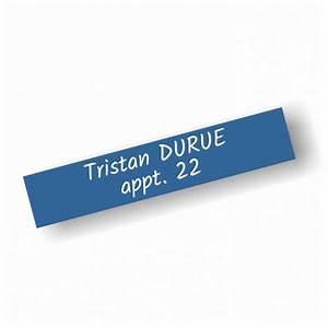 Porte Etiquette Boite Aux Lettres : etiquette bo te aux lettres 100x20mm ~ Melissatoandfro.com Idées de Décoration
