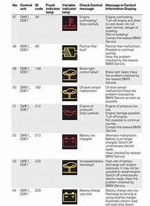Bmw E90 Dash Warning Symbols