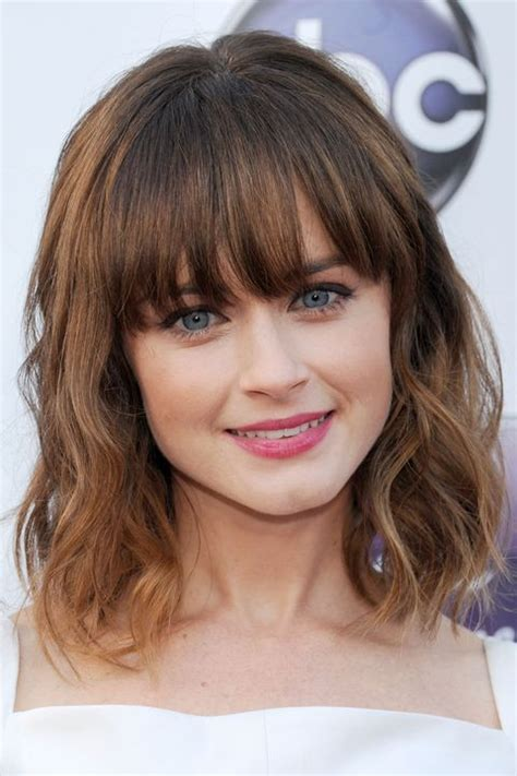 40 Best Hairstyles With Bangs Photos of Celebrity