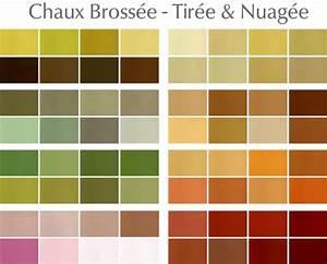 nuancier de couleurs peinture chaux brossee a lyon 69 With echantillon de couleurs de peinture