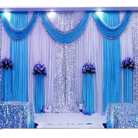 sequin wedding backdrop curtain  swag backdrop