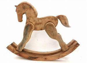 Objet Deco Bois Naturel : cheval bascule d co en bois de manguier cisel steux d co ~ Teatrodelosmanantiales.com Idées de Décoration