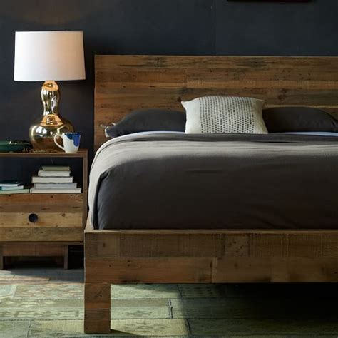 west elm emmerson bed emmerson reclaimed wood bed west elm