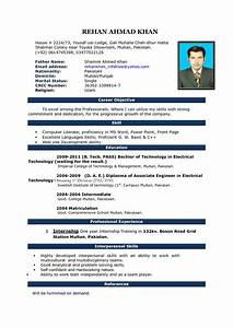 resume format for job interview ms word resume corner With best cv template word