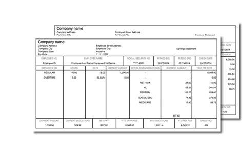 Free Check Stub Template Printables by Sle Pay Stub New Calendar Template Site