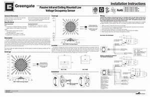 Ceiling Mounted Vacancy Sensor Wiring Diagram