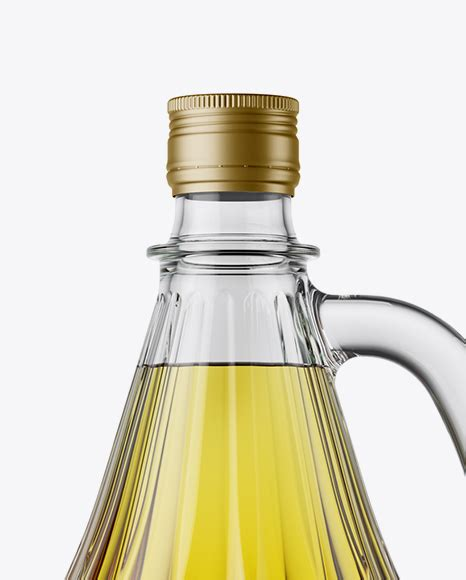Psd file, with smart objects adjustable layers google fonts included 10 marble backgrounds support if needed. 3L Clear Glass Olive Oil Bottle With Handle Mockup in ...