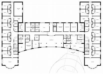 Floor Plans Plan Nursing Hospital Kitchen Retirement