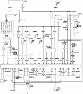 Mitsubishi Pajero 1992 Electrical Wiring Diagram