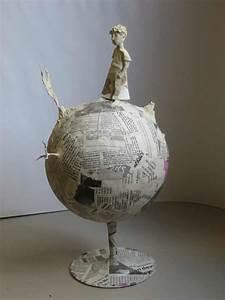 Sculpture En Papier Maché : sculpture de petit prince en papier m ch artiste plasticienne intervenant en arts visuels ~ Melissatoandfro.com Idées de Décoration