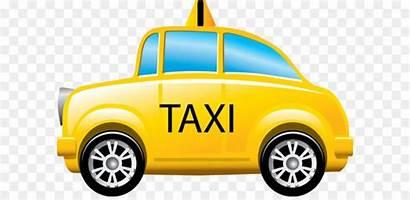 Taxi Cab Yellow Icon Bus York Transparent