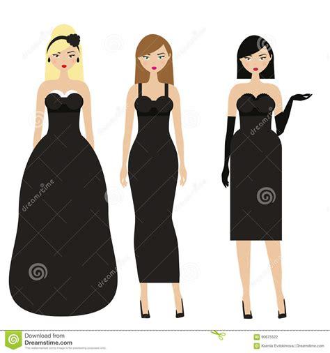 women  black dresses female night evening dressy