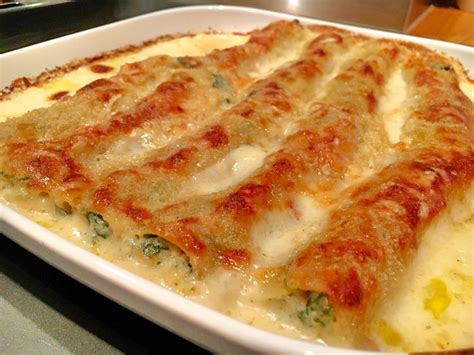 spinat cannelloni mit lachs feinkostpunksde