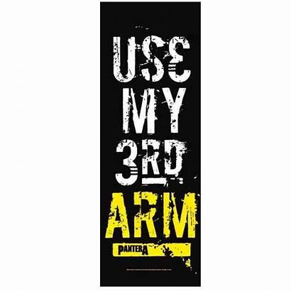Flaga Pantera 3rd Arm Metal