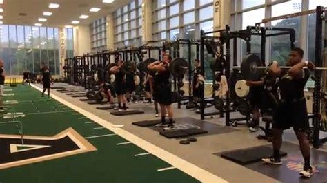 army football strength training youtube