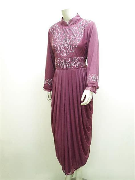 Gaun Gamis Pesta Elegant Model Syahrini High Twist Import