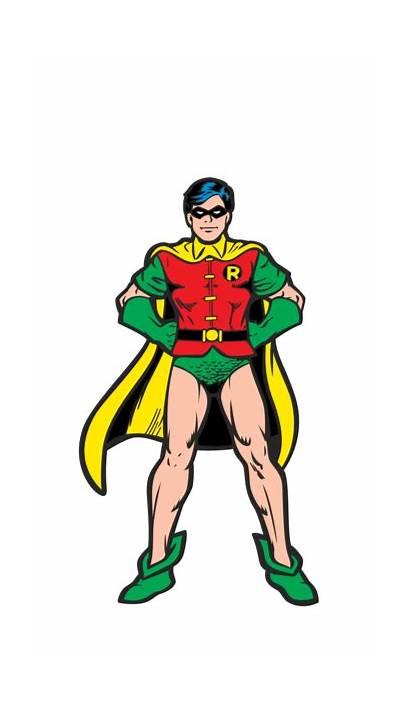 Robin Batman Classic Dc Comics Shading Experiment