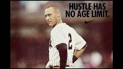 Jeter Derek Re2pect Career Highlights Baseball