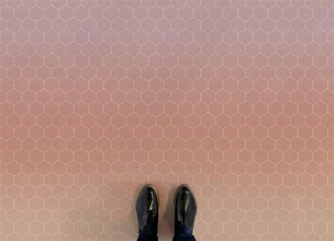 hexagon ombre vinyl flooring atrafloor