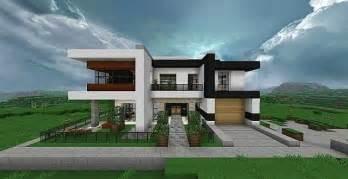 modern home comfortable minecraft house design