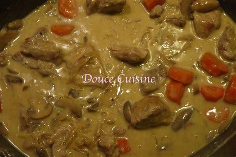 vin blanc de cuisine sauté de porc sauce vin blanc douce cuisine